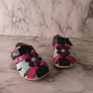 Stride Rite Kiernan Little Girls Size 6M Sandals